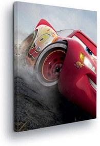 GLIX Tablou - Chassis Cars Disney MacQueen II 100x75 cm