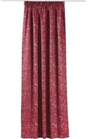 Draperie cu rejansa Essenza rosu 140x245 cm