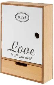 Dulapior pentru chei Sofie, MDF, 27x18x7 cm