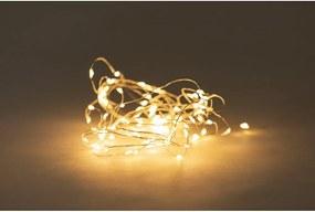 Ghirlandă luminoasă cu LED și baterie Luuka, 100 becuri