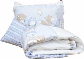 Lenjerie pat copii Odette Blue 100x140/40x60 cm