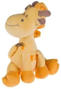 Jucarie Girafa Atasament Trilli Plus Portocaliu Bebelusi 25 Cm Nanan 2156