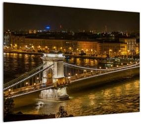 Tablou orașului nocturn (70x50 cm), în 40 de alte dimensiuni noi
