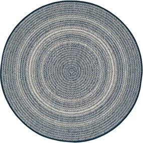 Covor pentru exterior Universal Silvana Rutto, ⌀ 120 cm, albastru