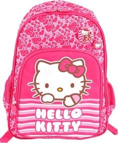Ghiozdan clasa 0 Pigna Hello Kitty roz dungi HKRS1742-1