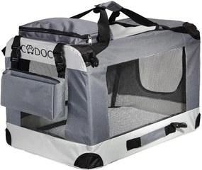 Geantă portabilă animale de companie 82 x 59 x 59 cm Grey - XL