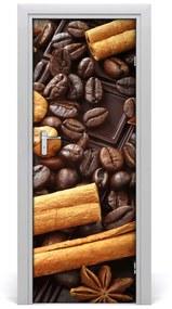 Autocolante pentru usi Ciocolata neagra