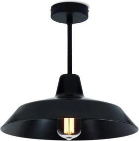 Lustră Bulb Attack Cinco Basic, negru