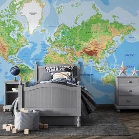 Tapet - Harta lumii