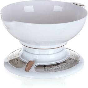 Cântar de bucătărie Banquet Culinaria White 3 kg