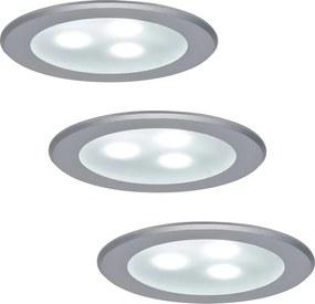 Paulmann 98351 - SET 3xLED/3W Lampă încastrată MICRO LINE 230V