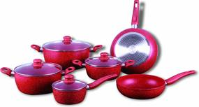 Set Oale marmorate 10 piese Royalty Line RL-T010