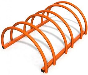 Suport rastel biciclete cu 3 sloturi -model 0022-3 Portocaliu