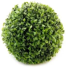 Arbust artificial, forma sferica, buxus, diametru 18 cm