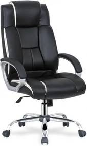 CRYPTO scaun de birou alb/negru