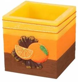 Lampion decorativ Scorțișoară și portocală, pătrat