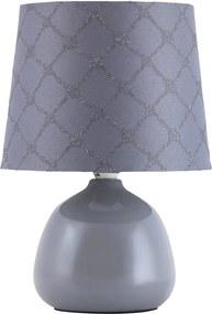 Rábalux Ellie 4381 Lampa de masa de noapte gri gri 1 x E14 max. 40W 26 x 18 x 18 cm