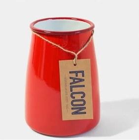 Suport smălțuit pentru ustensile de bucătărie Falcon Enamelware, roșu