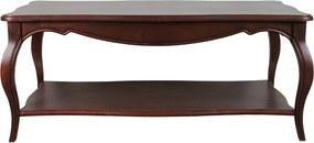 Masuta Verona din lemn maro roscat 120x60x50 cm