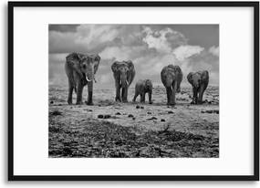 Imagine în cadru - Big Family by Marcel Rebro 40x30 cm