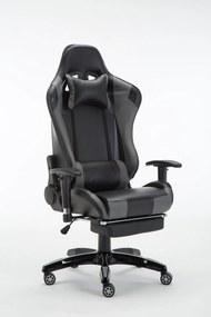 Scaun gaming SIG 5002 Negru/Gri