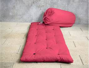Pat pentru oaspeți tip saltea Karup Bed in a Bag Magenta