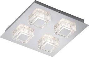 Briloner 3549-048 - Plafonieră LED NOBLE 4xLED/5W/230V