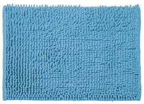 Covoras baie AWD, poliester, albastru, 1x40x60 cm