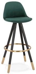 Scaun de bar Kokoon Carry, înălțime 75 cm, verde închis