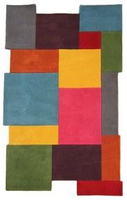 Covor din lână colorat Flair Rugs Collage, 150 x 240 cm