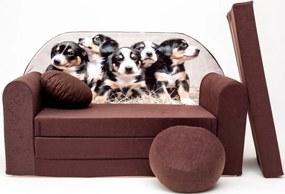 Canapea pentru copii – Catelusi K 7+ Puppies