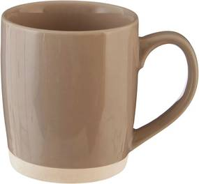 Cană din ceramică Premier Housewares, 370 ml, maro