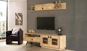 Set Comoda Tv cu Corp si Raft - Alya
