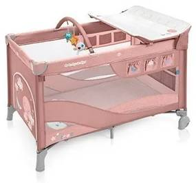 Baby Design - Patut pliabil cu 2 nivele Dream 08 , Pink 2019