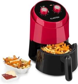 Klarstein Wel Air Fry, friteuză cu aer cald, 1230W, siguranță de supraincalzire, 1,5l, roșu
