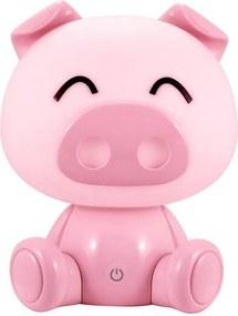 LED Veioza de noapte copii LED/2,5W prase roz