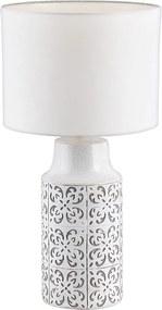 Rabalux 4308 - Lampă de masă AGNES 1xE27/60W/230V gri