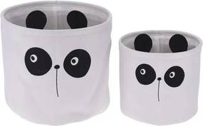Set coșuri decorative Hatu Panda, 2 buc.