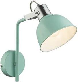 Aplica tip spot 1xE14 verde menta Roli Globo Lighting 54641-1W