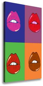 Tablou canvas Buzele colorate