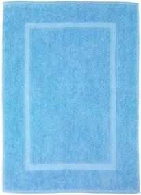 Covor baie din bumbac Wenko Serenity, 50 x 70 cm, albastru