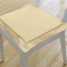 Goldea pernă pentru scaun cu ornamente 38x38 cm - bej 38 x 38 cm