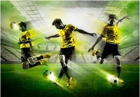 Fototapet Bimago - Let's play! + Adeziv gratuit 200x140 cm