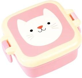 Cutie pentru gustare Rex London Cookie the Cat, roz