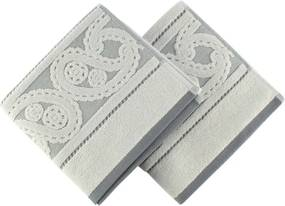 Set 2 prosoape Hurrem Grey, 50 x 90 cm, gri
