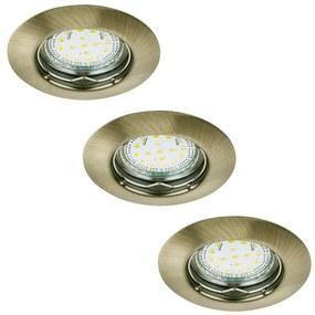 Rabalux 1048 - SET 3x Corp de iluminat tavan fals LITE 3xGU10-LED/3W/230V