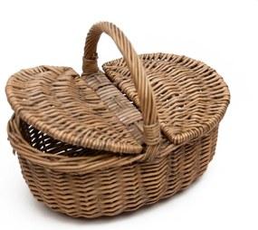 Coș picnic răchită Antic Antique Picnic