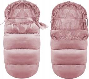 Landou pentru bebeluși roz lucios