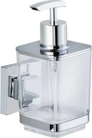 Dozator pentru săpun lichid Wenko cu sistem de prindere Vacuum-Loc, până la 33 kg