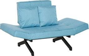 HOMCOM Canapea Extensibila cu 2 Locuri cu Pat pentru o Persoana Mobilier Modern Casa si Birou